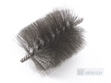 Twisted in Wire Brush with Cut End, Precision Brush Co.