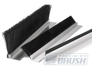 Precision Brush; Aluminum Holders for Strip Brushes