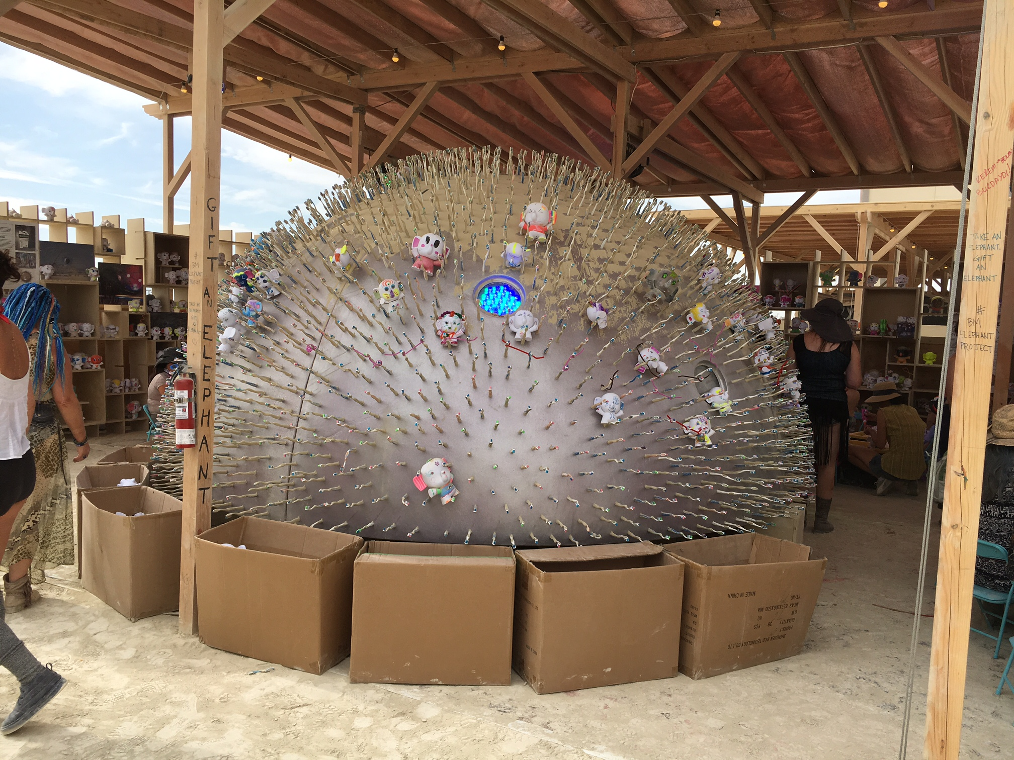 Precision Brush; Brush with Life: Precision Brush takes on  the Burning Man