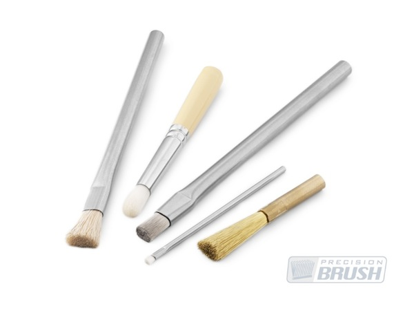Custom Pencil Brushes by Precision Brush Co.  Made in the USA