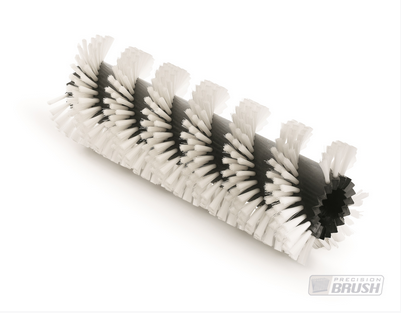 industrial staple set spiral brush