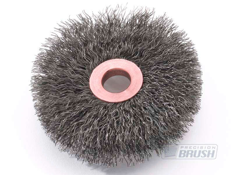 Carbon Steel Wire Copper Center Wheel Brushes