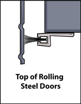 Aircraft Hanger Door Seal