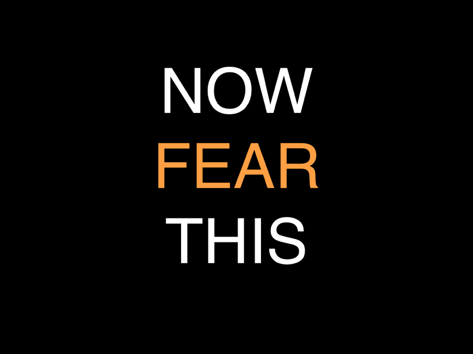 Now Fear This | Blog on Project Heard | Woman of Power