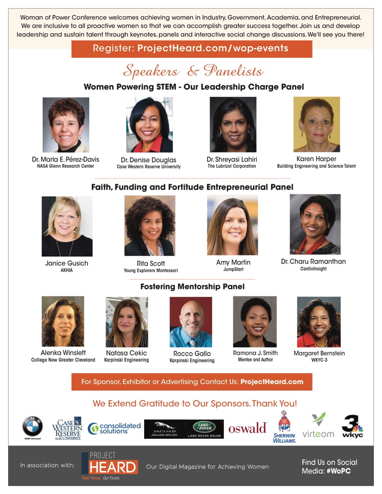 Woman of Power Conference Cleveland | WoPC 2017