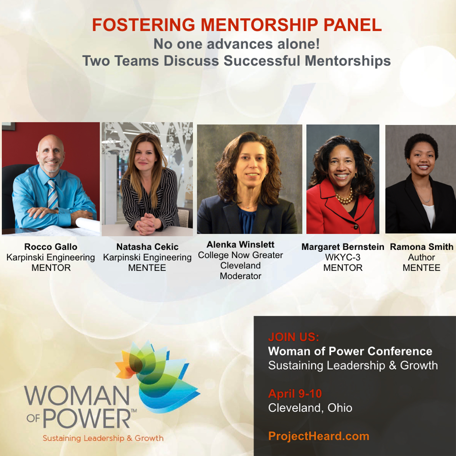 Fostering Mentorship Panel for Woman of Power Conference | Project Heard