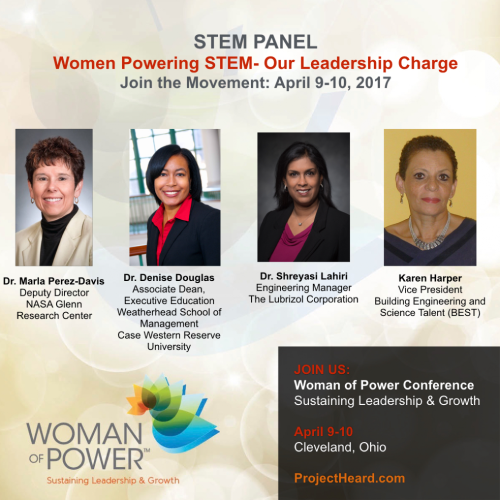 STEM Panel for Woman of Power Conference | Project Heard