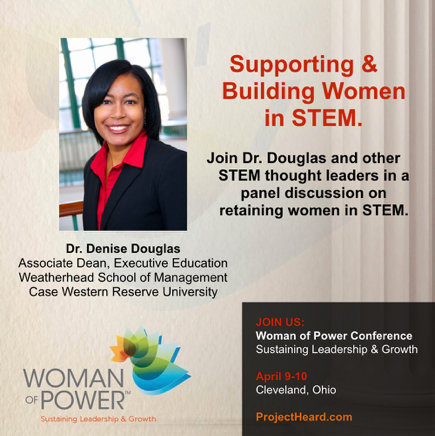 Dr.Denise Douglas | Woman of Power Conference Cleveland | Project Heard