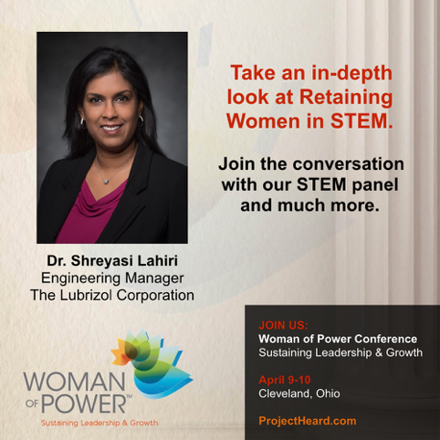 Dr. Lahiri | Woman of Power Conference Cleveland 2017 | Project Heard