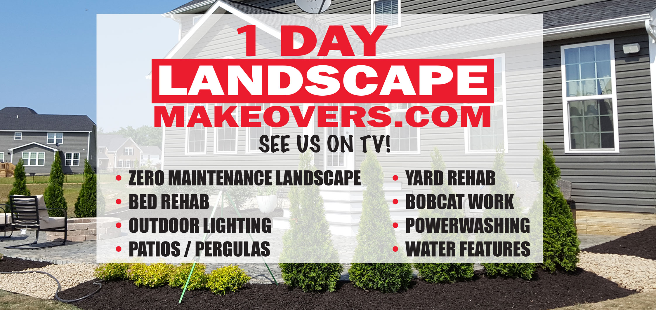 One Day Landscape Makeover | Seasonal YardWork