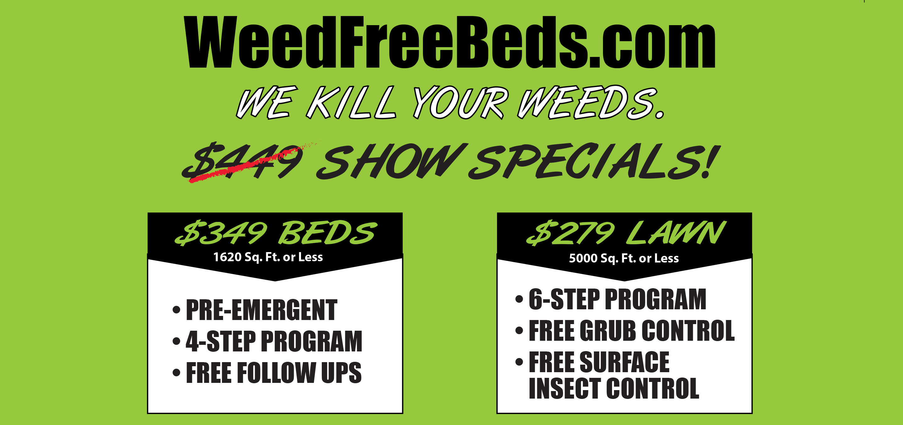 Weed Free Bed Maintenance | Seasonal Yard Work