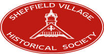 sheffield village historical society logo