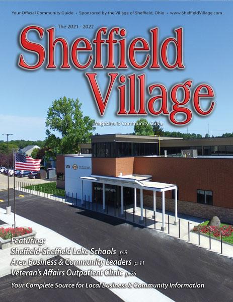 sheffield village 2021 magazine