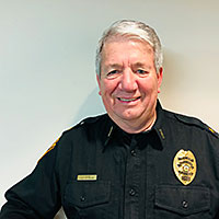 Police Chief Larry Bliss
