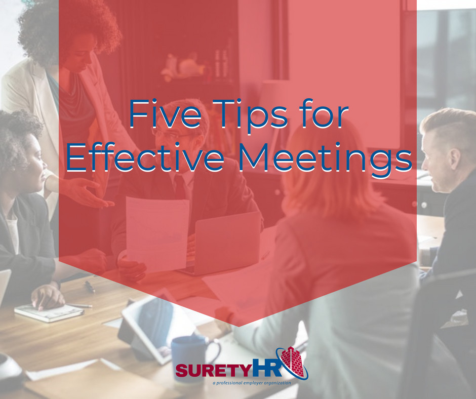 5 tips for successful meeting with Surety HR | Cleveland, Ohio