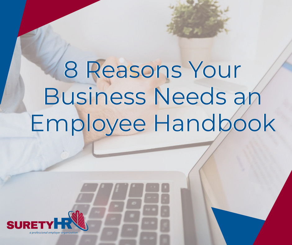 Surety tells us why we need and employee handbook |Cleveland, OH