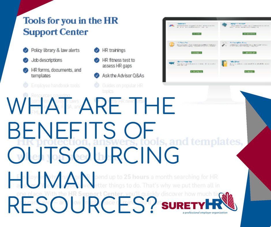 What are the benefits of outsourcing Human Resources? | Surety HR