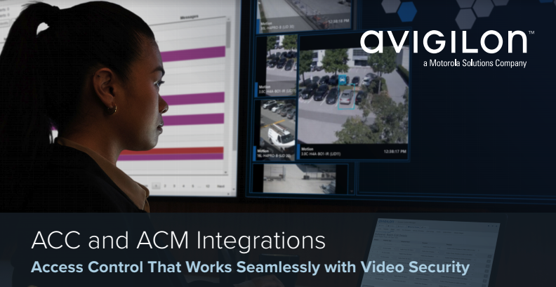 The Integration of Avigilon Video Surveillance