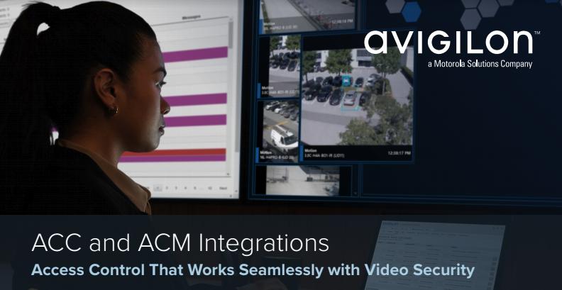 The Integration of Avigilon Video Surveillance
