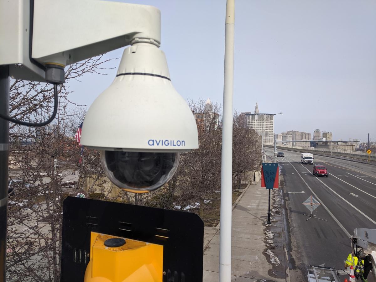 City-Wide Video Surveillance Installation