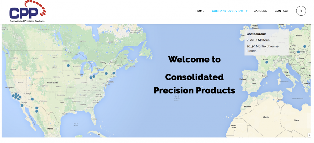 Virteom Launches Consolidated Precision Products