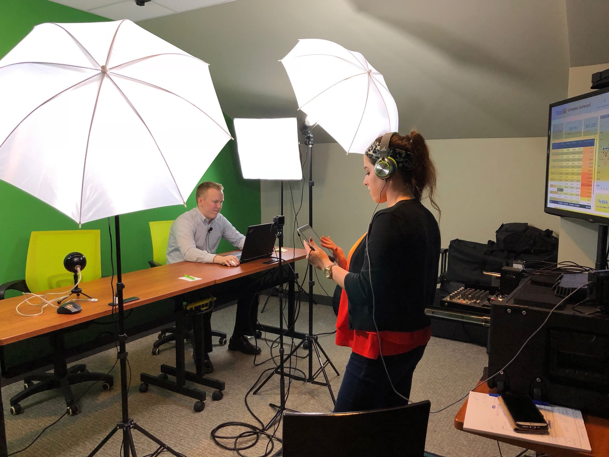 Virteom's own recording studio for creating our Sonic Marketing Boost | Cleveland, OH