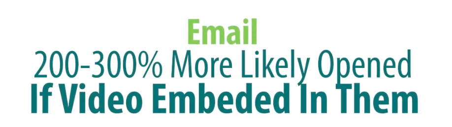 Emails are 200-300% more likely to be opened if there is an email embedded | Cleveland, OH