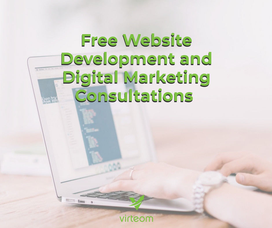 Virteom offers a free consultation for you business to discuss website and marketing | Avon, OH