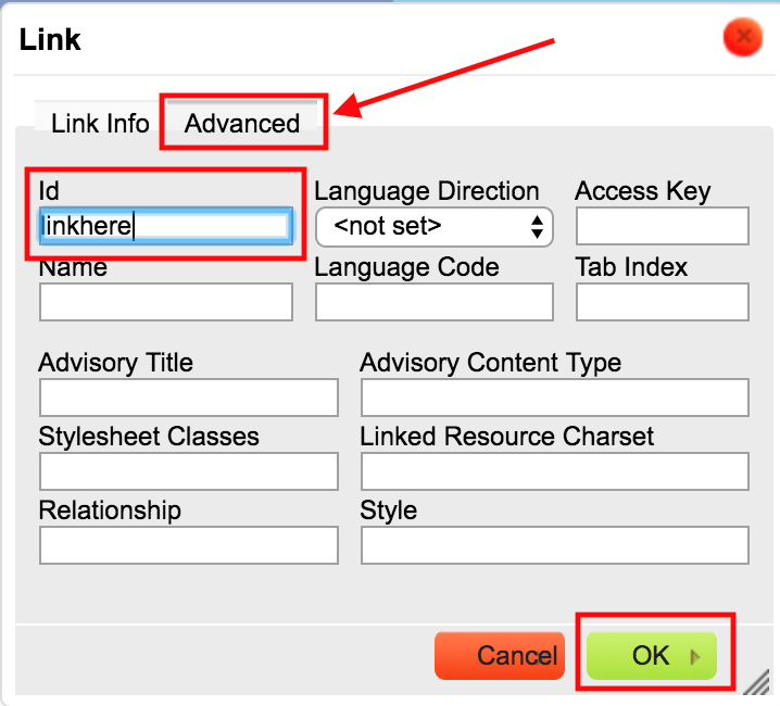Working with Links