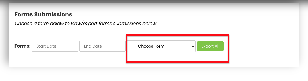 Choose What Form You'd like to see Submissions On   Virteom