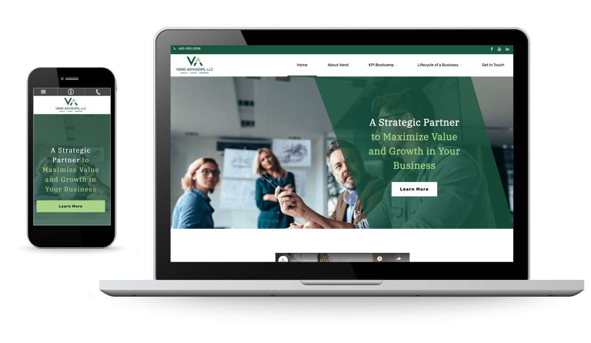 New Websites for business advisors and business coaches