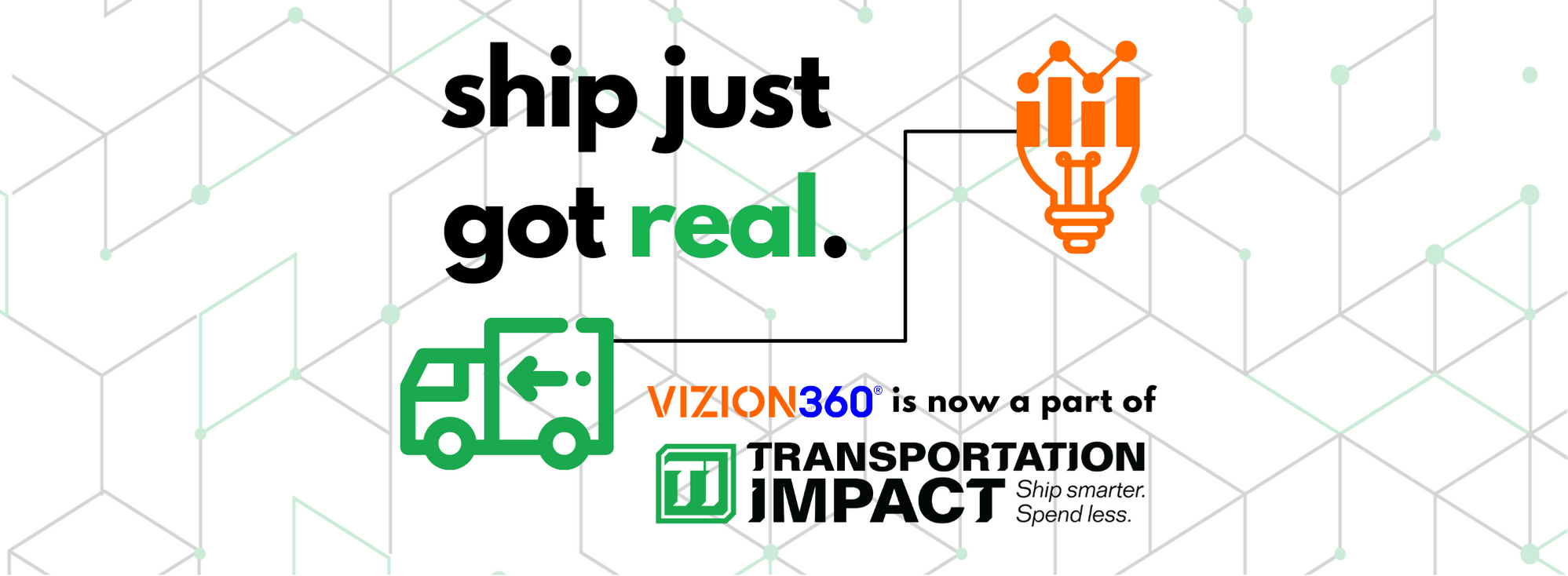 Ship Just Got Real. Vizion360 Acquired by Transportation Impact