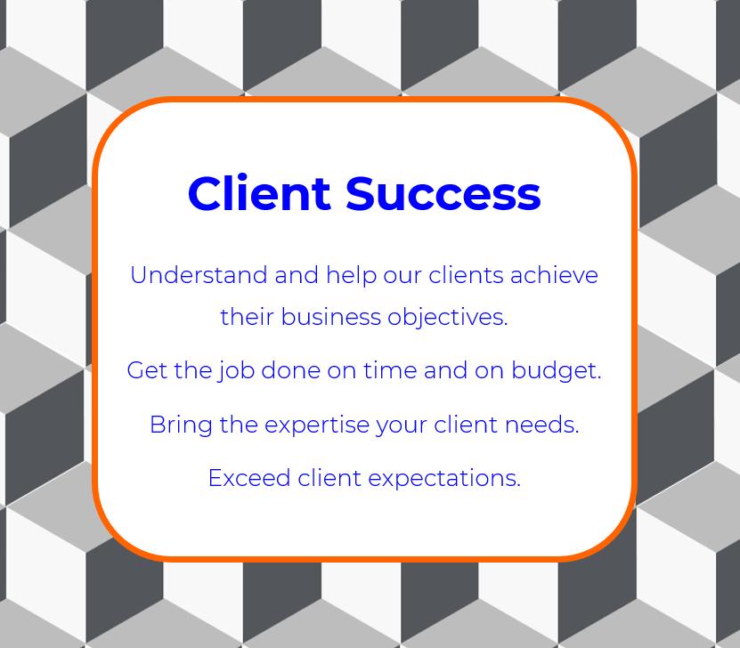 Client Success is a core val ue of Vizion360