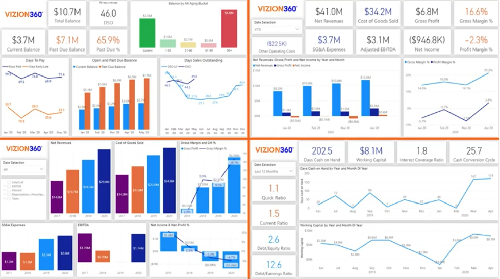 Data Visualizations with Impact Analytics