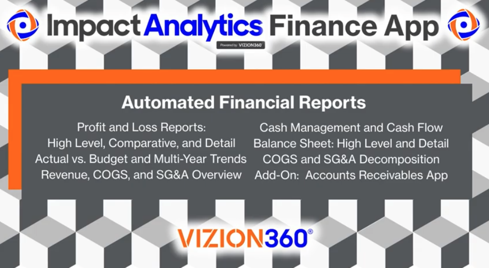 Accurate Financial Data with Impact Analytics