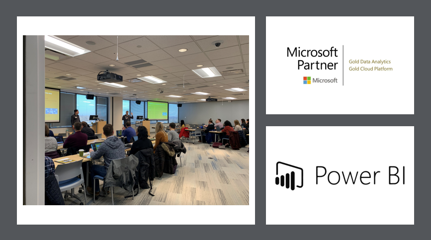 Microsoft Gold partners and power BI partner teaches DIAD class in 2019