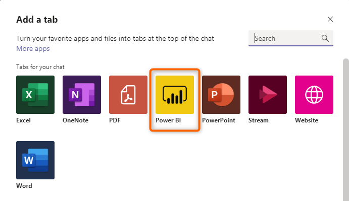 Microsoft Power BI Option in Teams - Favorite Feature Update from Vizion360's Feature Summary Review