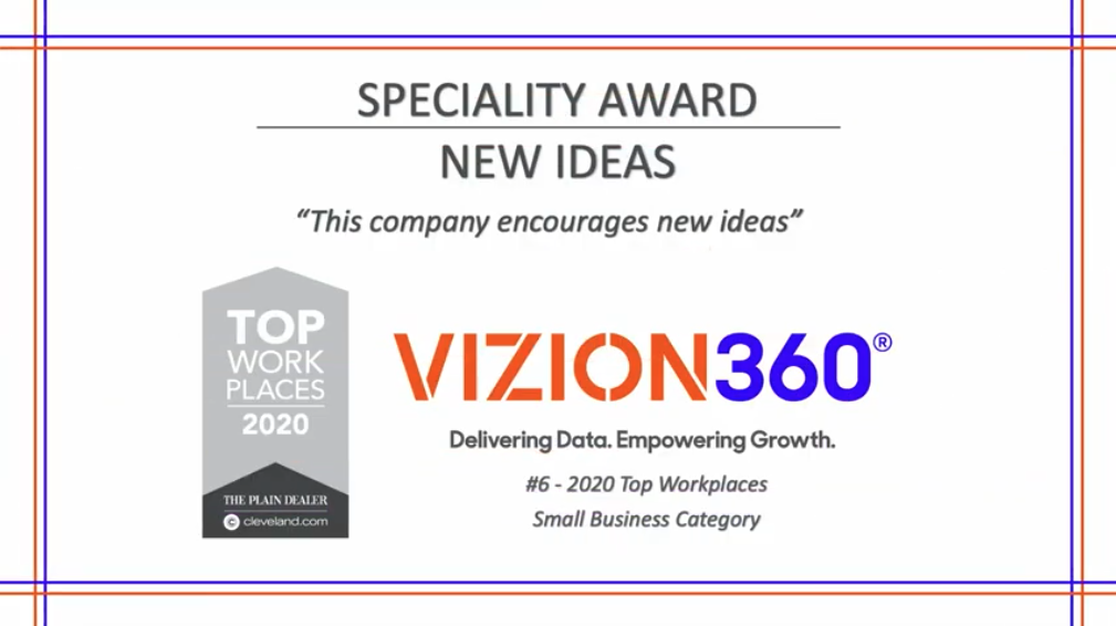 Top Workplaces, Vizion360 Cleveland, Ohio
