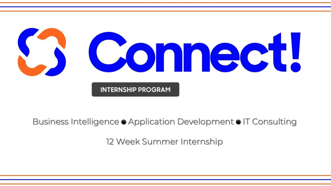 Vizion360 Connect! Internship Program