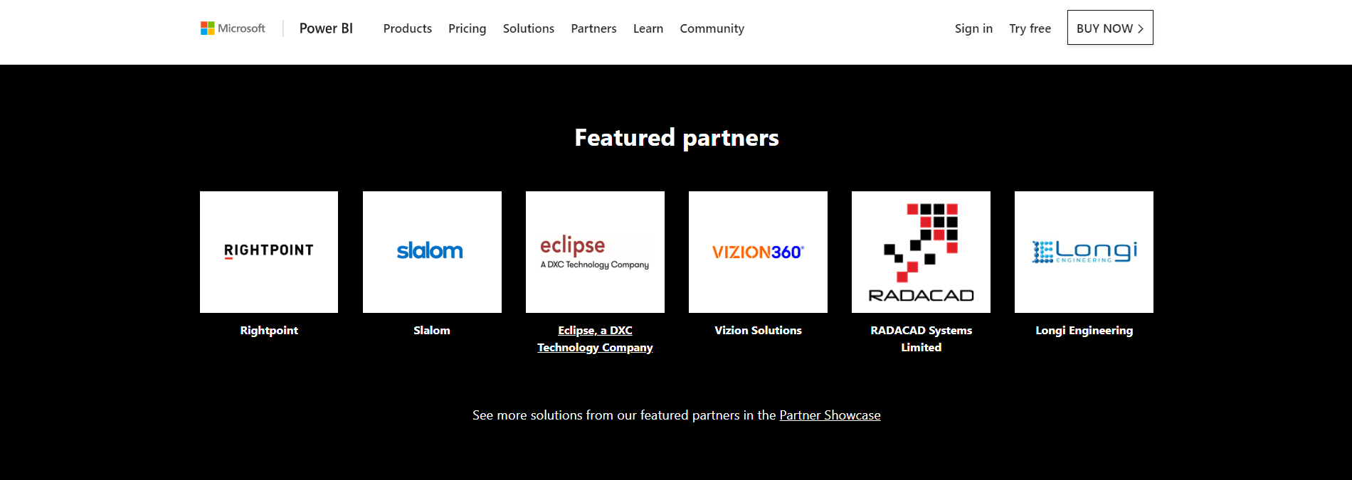Vizion360 Named Featured Partner with Microsoft Power BI