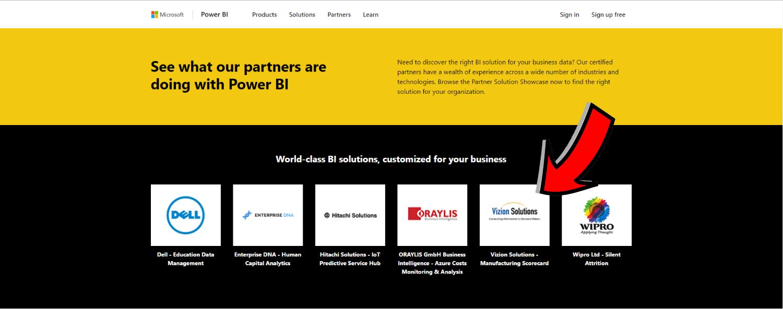 Microsoft Partner Showcase