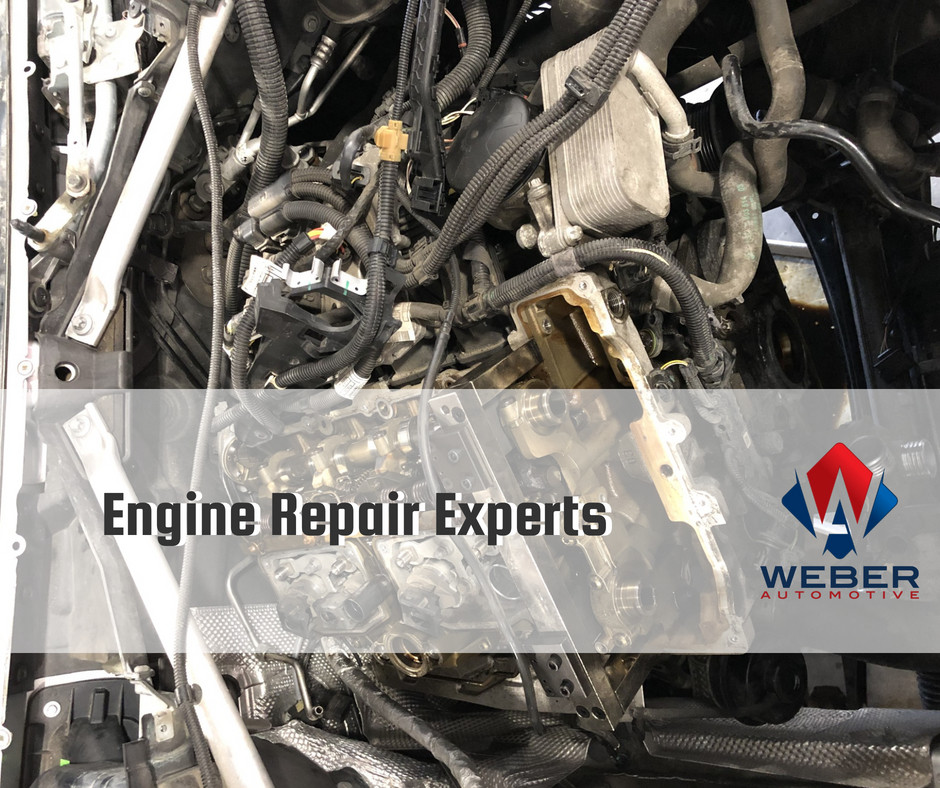 Weber Automotive is Cleveland's best engine repair experts