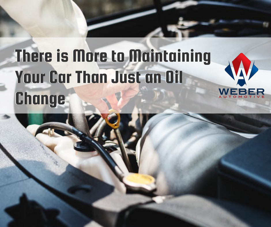 Weber Automotive stresses the importance of routine maintenance on every part of your vehicle