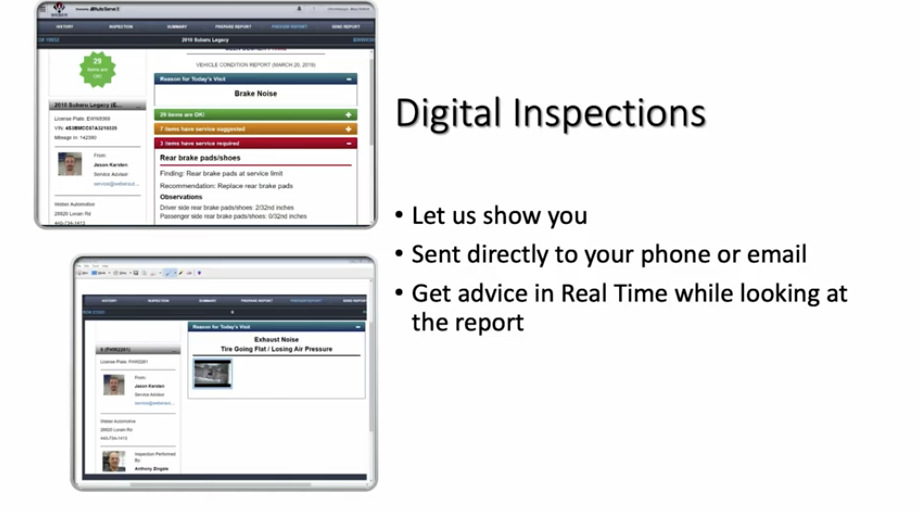 Digital Auto Inspections in North Olmsted, Ohio