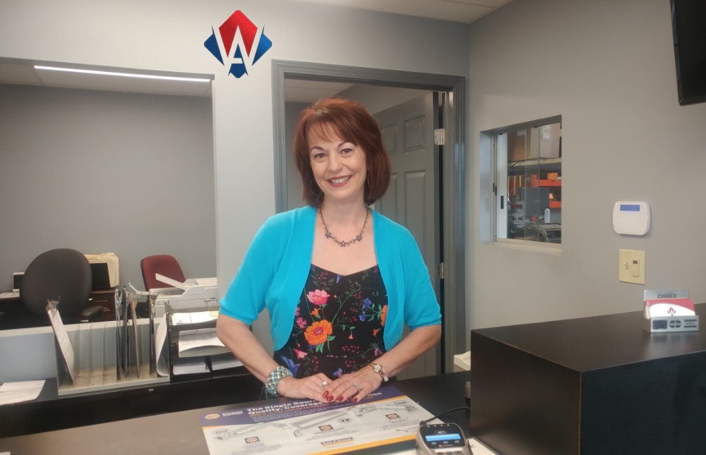 Mary Kellick, Office Manager
