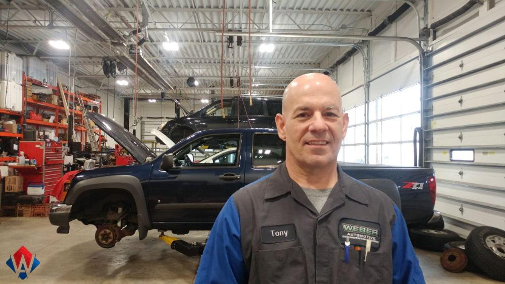 Tony Zingale, Service Manager