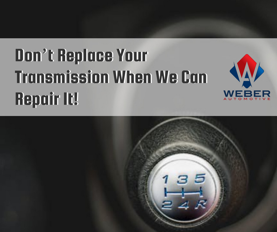 Transmission repair at Weber Automotive | North Olmsted, OH