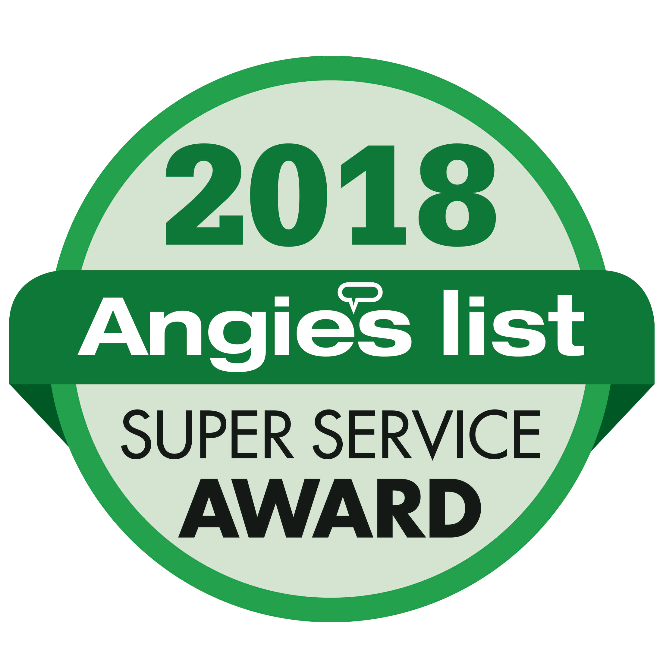 2018 Angie's List Super Service Award | Weber Automotive