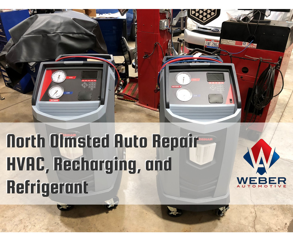 HVAC, Recharging and Refrigerant