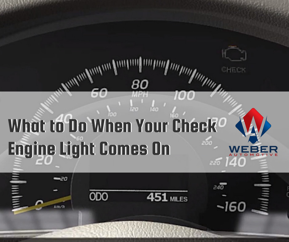 Weber Automotive can help you diagnose the issue your car is having | North Olmsted, OH